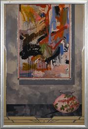 Sale 8420 - Lot 511 - Geoffrey Proud (1946 - ) - Untitled, 1980 127 x 92cm
