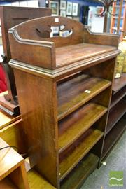 Sale 8489 - Lot 1055 - Timber Bookshelf