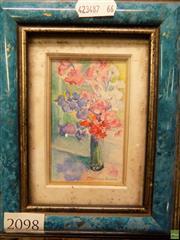 Sale 8578T - Lot 2098 - Marylin Bourke Signature Watercolour Miniature