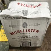 Sale 8801W - Lot 35 - 6x McAllister Reserve Scotch Whisky, 1000ml