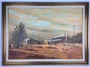 Sale 8607R - Lot 59 - James Thompson - Oil on Board (59 x 85cm)