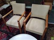 Sale 8601 - Lot 1544 - Pair of Bridge Chairs