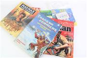 Sale 8827T - Lot 624 - Group Of Books Incl Batman Catalogue And Alf Tape