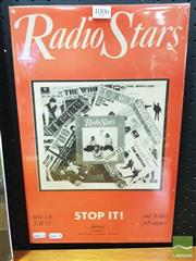 Sale 8421 - Lot 1006 - Vintage and Original Radio Stars Stop It Album Promotional Poster (41.5cm x 27cm)
