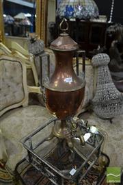 Sale 8470 - Lot 59 - Copper Samovar