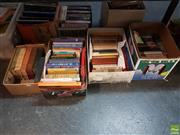 Sale 8582 - Lot 2452 - 4 Boxes of Various  Books