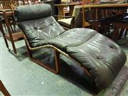 Sale 8661 - Lot 1032 - Tessa Lounge Chair by Fred Lowen