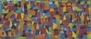 Sale 8738 - Lot 592 - Andrew Ferguson (1959 - ) - Village Scene 27 x 59cm