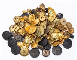 Sale 9130E - Lot 71 - A collection of mostly Australian navy anchor themed uniform buttons, including by Stokes & sons