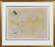 Sale 8358 - Lot 524 - Salvador Dali (1904 - 1989) - Chariots in Recession 39 x 58cm