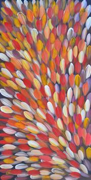 Sale 8408 - Lot 511 - Gloria Petyarre (c1945 - ) - Bush Medicine Leaves 119 x 60cm