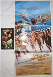 Sale 8431B - Lot 8 - Coolangatta Gold, day bill poster and the book, Coolangatta Gold, published in 1984 by Budget Books