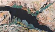 Sale 8633A - Lot 5003 - Neroli Weaver (1965 - ) - Kimberely Gorge, 2001 49 x 81cm (frame: 74 x 107cm)