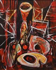 Sale 8657A - Lot 5073 - Victor Rubin (1950 - ) - Still Life 35 x 27cm