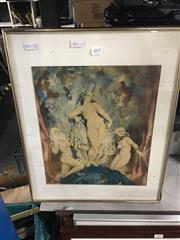 Sale 8674 - Lot 2092 - Norman Lindsay Chromolithograph