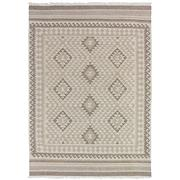 Sale 8910C - Lot 17 - Indian Natural Maymana Kilim Rug, 160x230cm, Handspun Natural Wool