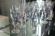 Sale 8340 - Lot 43 - Clare Belfrage Adelaide Set of 10 Art Glasses (one cracked)