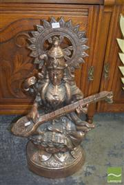 Sale 8390 - Lot 1114 - Copper Lakshmi Figure