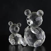 Sale 8387B - Lot 5 - Swarovski Crystal Bears with Box & Certificate