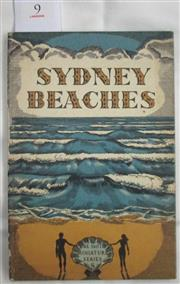 Sale 8431B - Lot 9 - Sydney Beaches, A Camera Study by Lou D'Alpuget. Published by Ure Smith in 1950. A number of beach scenes showing surfboard riding a...
