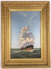 Sale 8607R - Lot 61 - J. Head - Oil on Board (45.5 x 29cm)