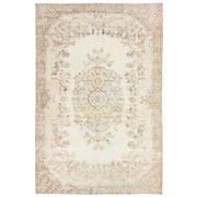 Sale 8761C - Lot 36 - A Vintage Turkish White Wash Carpet, Hand-knotted Wool, 311x210cm, RRP $5,100