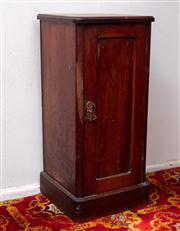 Sale 8804A - Lot 150 - A Victorian bedside cabinet, H 77 x W 35 x D 33cm