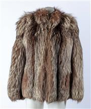 Sale 9003F - Lot 27 - A Hammerman Fox Fur jacket, size M