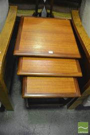 Sale 8350 - Lot 1052 - Good G-Plan Nest of Tables