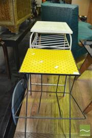 Sale 8398 - Lot 1037 - Pair of Retro Side Tables