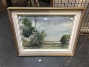 Sale 8702 - Lot 2045 - Artist Unknown - Beach Road, watercolour