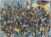 Sale 8738 - Lot 593 - Judi Singleton (1963 - ) - Landscape III, 1991 36 x 51cm