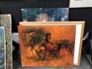 Sale 8759 - Lot 2067 - Group of (3) Decorative Prints incl. Streeton (Published by NGV), Renoir and Hoi Le Bedang