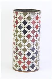 Sale 8796 - Lot 19 - Farienne Jouvin Paris Cloisonne Vase (Height: 30.5cm)
