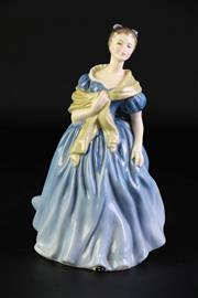 Sale 8894 - Lot 313 - Royal Doulton Adrienne Lady Figure (height - 20cm)