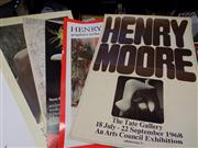 Sale 8437 - Lot 2099 - 5 Posters incl Henry Moore