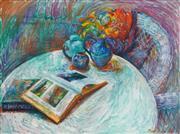Sale 8449A - Lot 505 - Judy Lane (1942 - ) - Still Life, 1988 90 x 121cm