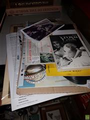 Sale 8582 - Lot 2390 - Collection of Vivien Leigh Ephemera incl. Postcards, Waterloo Bridge Lobby Card, Streetcar Named Desire Program, etc