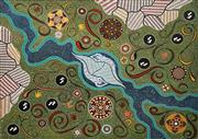 Sale 8733A - Lot 5049 - Nathan Hardy - Rivers and Land 76.5 x 102cm (stretched and ready to hang)