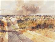 Sale 8773A - Lot 5074 - Frederick Bates (1918 - ) - Sandstorm 55 x 68.5cm