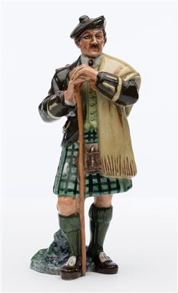 Sale 9245R - Lot 82 - An English Royal Doulton figure, The Laird, HN 2361Ht: 20cm