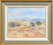 Sale 8301A - Lot 93 - James Wynne (1944 - ) - Needing Rain, Bathurst 40 x 50cm
