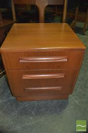 Sale 8350 - Lot 1066 - Pair of G-Plan 3 Drawer Chests
