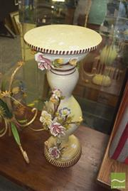 Sale 8390 - Lot 1246 - Floral Jardiniere Stand