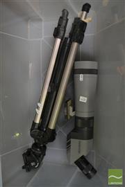 Sale 8495 - Lot 2095 - Swarovski Telescope with Stand