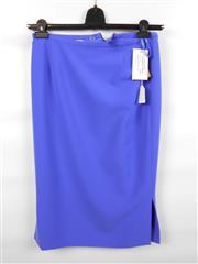 Sale 8514H - Lot 48 - Katharina V Braun Mid Blue Skirt - 66cm L, UK size 10
