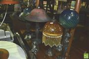 Sale 8371 - Lot 1088 - Collection of 4 Table Lamps