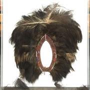 Sale 8758 - Lot 54 - Maasai Feathered Head Dress, framed