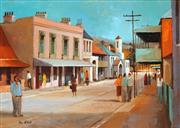 Sale 9021 - Lot 514 - Ric Elliot (1933 - 1995) - Historic Carcoar Village 24 x 34 cm (frame: 39 x 49 x 5 cm)