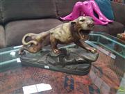 Sale 8620 - Lot 1016 - Composite Figure of A Tiger ( L 45cm x H 30cm)